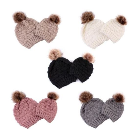 Mom and Me Slouch Beanies-3